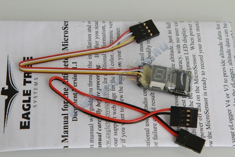 EagleTree Altitude MicroSensor (standalone or e-logger) V4