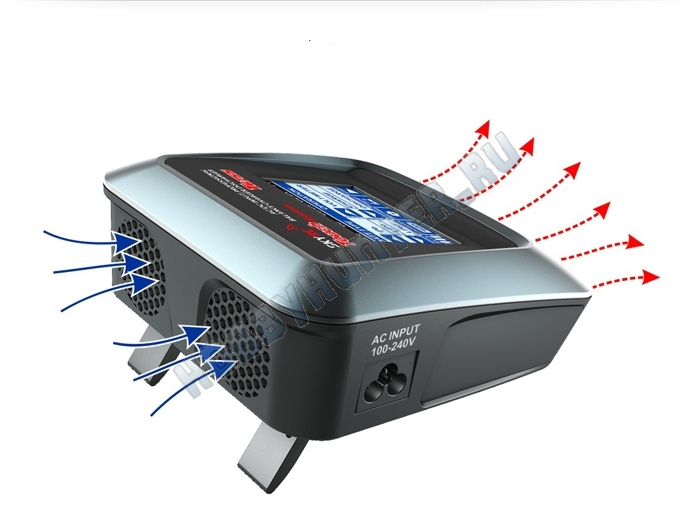 Зарядное устройство SKYRC T6755 (220V 55W C:7A D:2A) all type