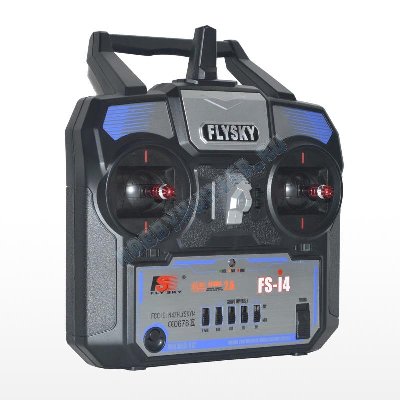 Радиоаппаратура FlySky i4 (4 канала) с приемником A6 (6 каналов) 2.4гГц