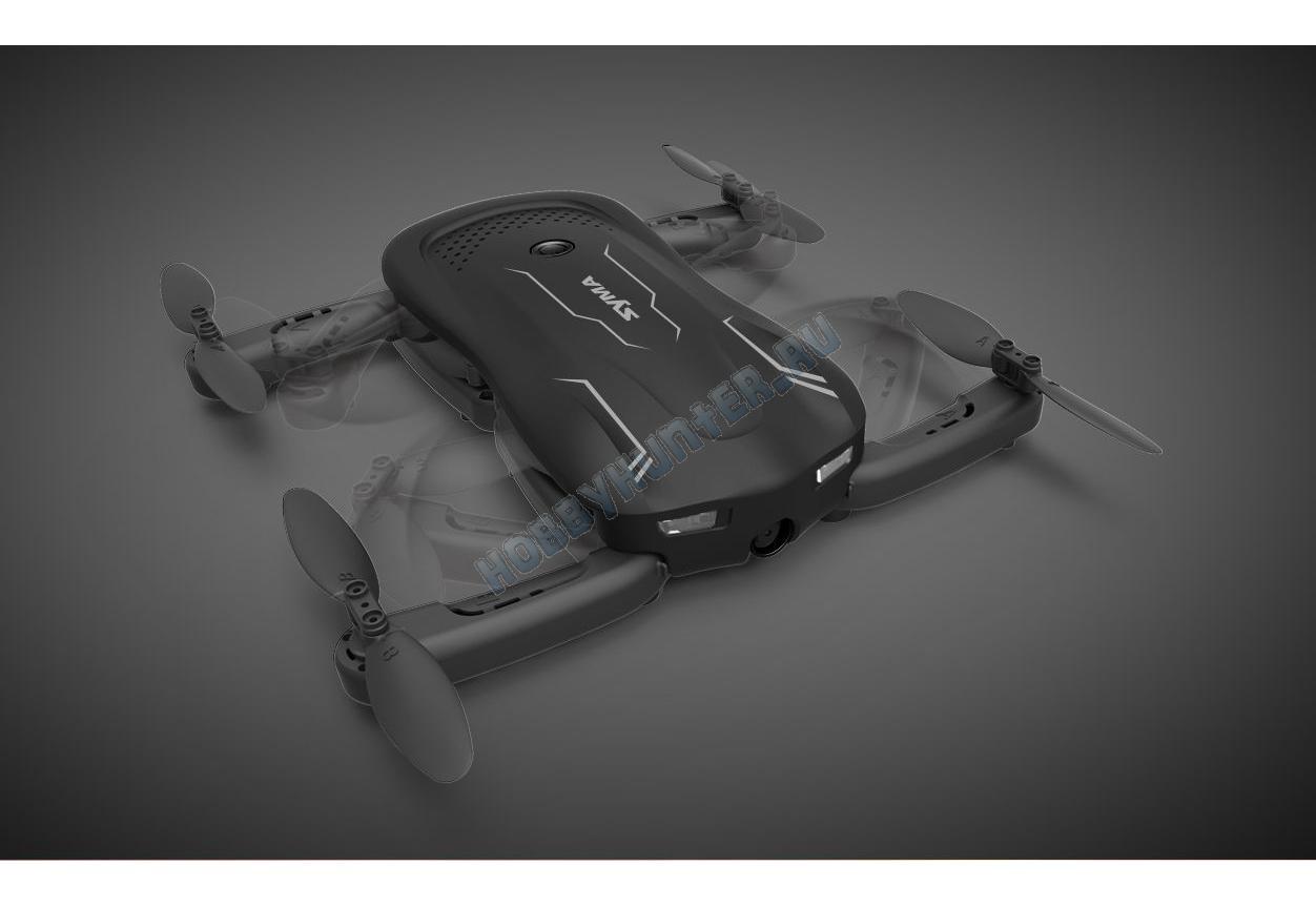 Квадрокоптер - Z1 (складной, 2.4гГц, 4 канала, WIFI камера)