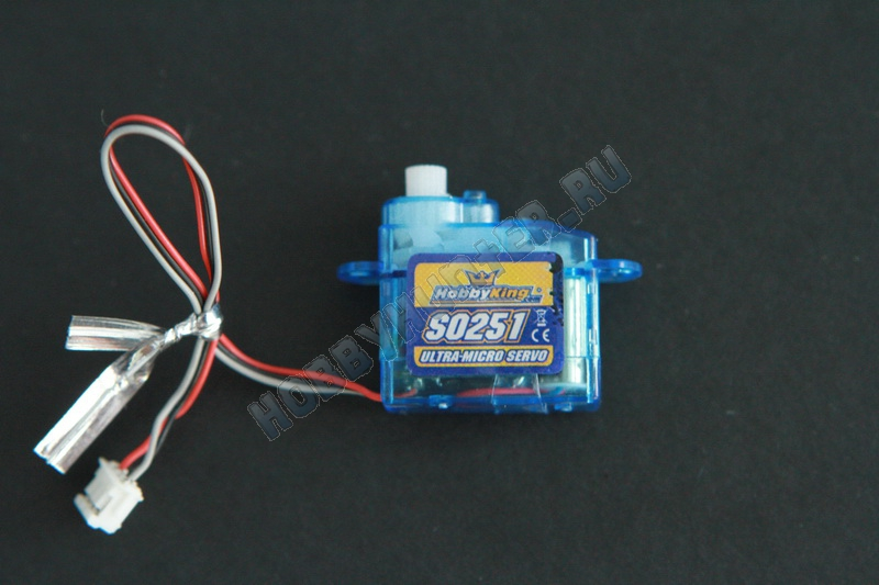 HobbyKing S0251 2.5g / .17kg / .12sec Micro Servo