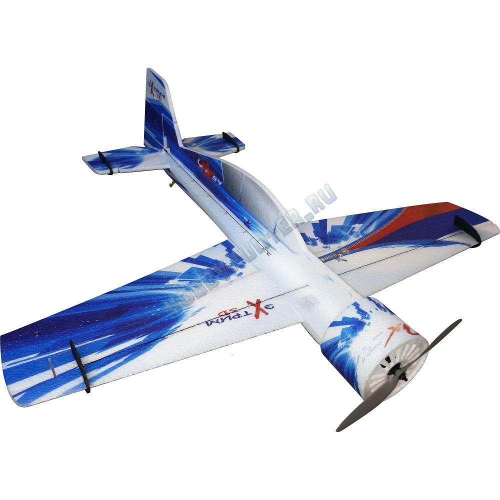 Як-54 1000 мм., EPP (синий). Без шасси.