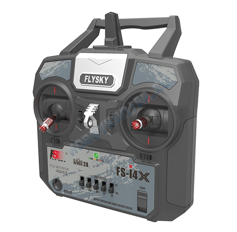 Радиоаппаратура FlySky i4x (4 канала) с приемником А6 (6 каналов) 2.4гГц