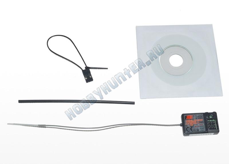 Радиоаппаратура FlySky GT3B с приемником GR3E (3 канала) 2.4гГц