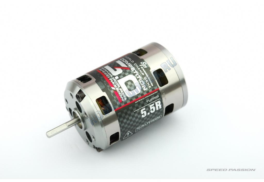 Двигатель б/к 1/10 - Competition Version3.0 (5.5R датчиковый)