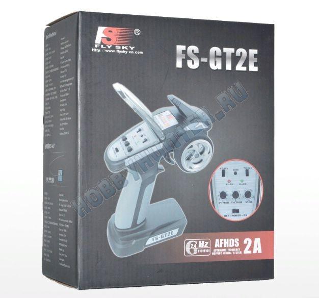 Радиоаппаратура FlySky GT2E (2 канала) с приемником А3 (3 канала) 2.4гГц