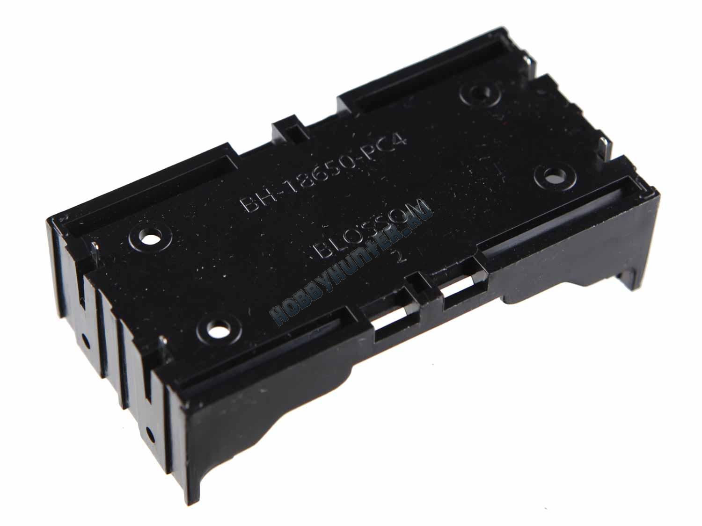 Держатель для акуумуляторов 18650 (две ячейки)