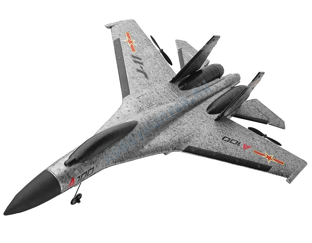 Самолет электро - SU-27 (3 канала)