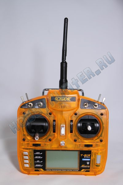 OrangeRx T-SIX 2.4GHz DSM2 6Ch (Mode 2)