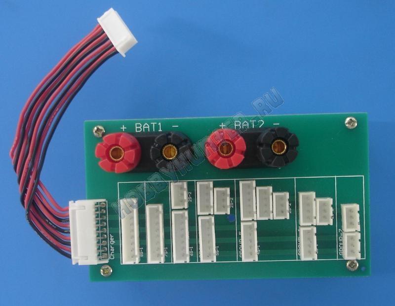 Балансировочный разъем Li-Po с кабелем (18 в 1)