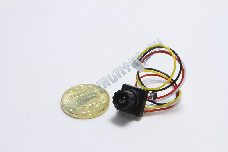 600TVL Mini Digital CMOS Camera 6mm Focus Lens