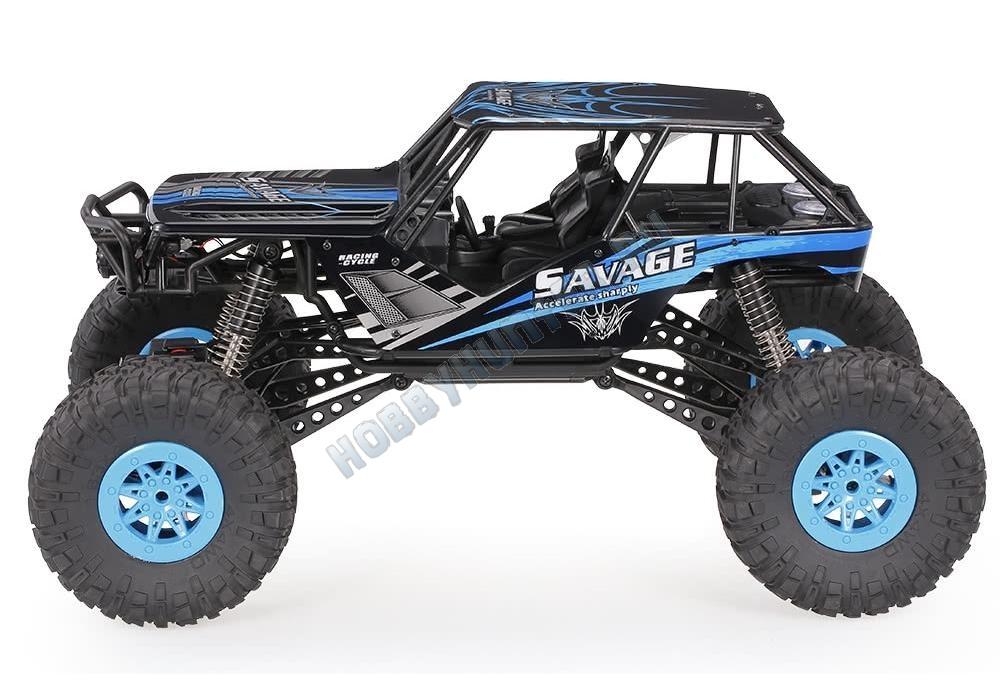 Краулер 1:10 4WD - Savage (ЗУ, 700мАч NiCd)