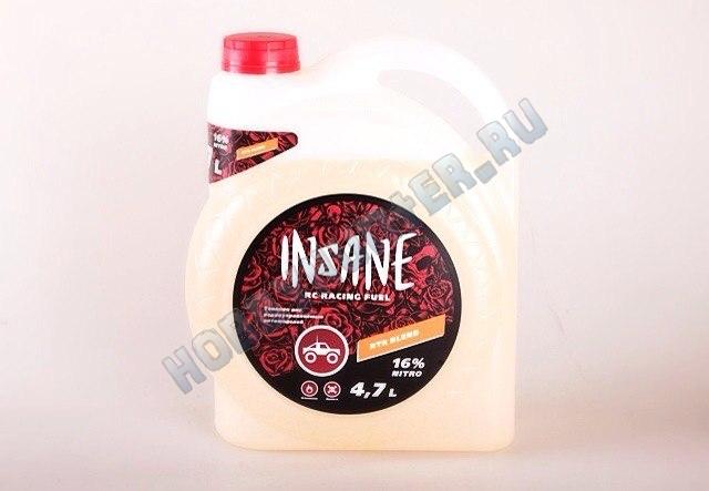 Смесь - Insane RTR Fuel Blend 16% nitro 4,7л