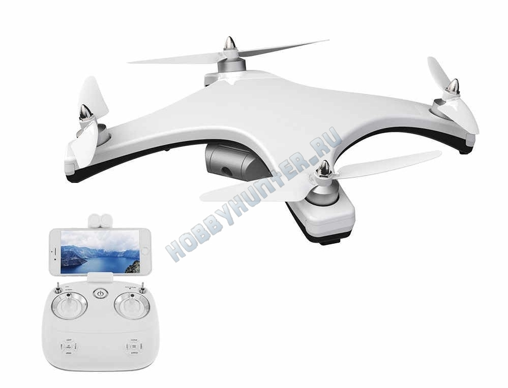 Квадрокоптер - Tracker 1080p (GPS, бесколлекторные моторы, камера 1080P, 5G FPV)