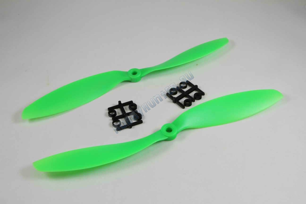 Пропеллер 9047 + 9047R (Зеленые)