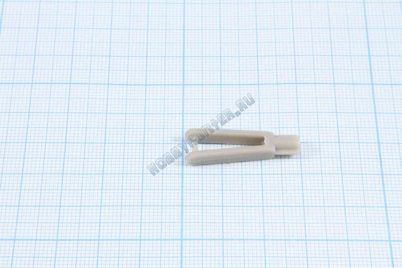 Концевик тяги 2x29mm  Серые (10штук)