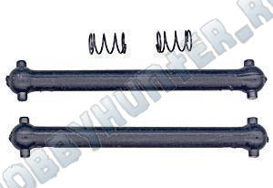Оси приводов RC18 (2шт) с пружинками