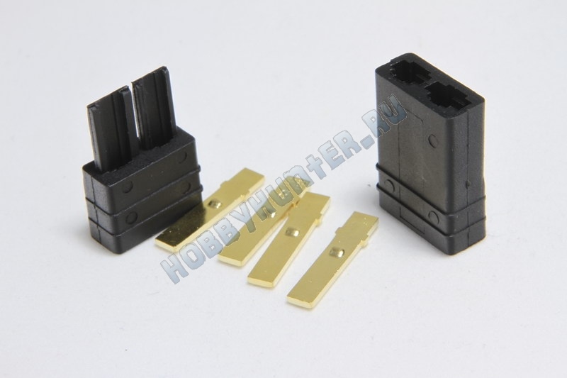 Traxxas style Plug Male & Female (пара)