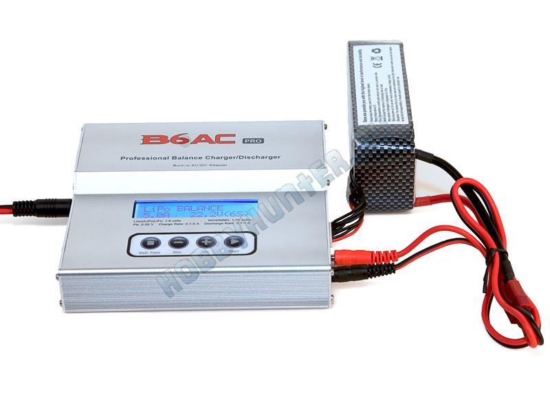Универсальное зарядное устройство - ImaxRC B6AC Pro (220V 50W C:5A D:1A)