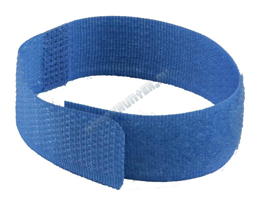 Стяжка простая 180x20 (Темно-голубая)