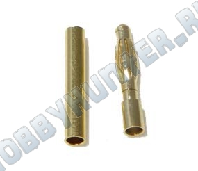 Gold Bullet 2мм (пара)