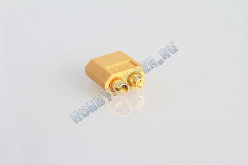 Коннектор XT60 Желтый (пара)