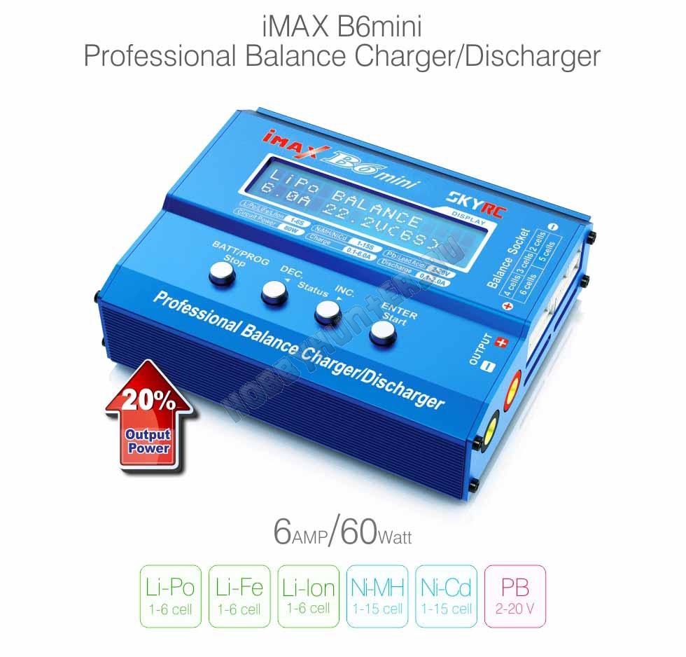 Imax b6 mini charger инструкция
