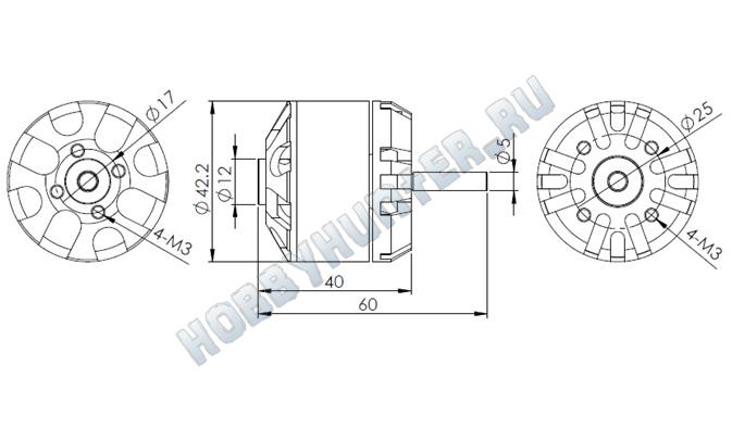 DYS D4240 (620KV)