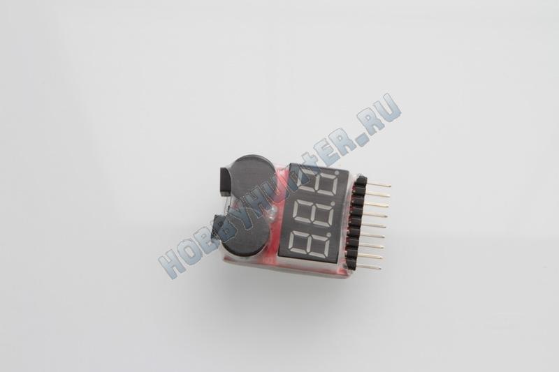 Сигнализатор с вольтметром 1S-8S
