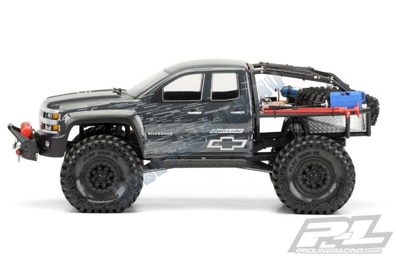 Кузов 1/10 - Chevy Silverado (SCX10 Trail Honcho, некрашеный)