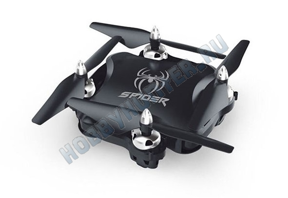 Квадрокоптер - S16 FPV Foldable (720p WiFi, удержание высоты - барометр, складной)