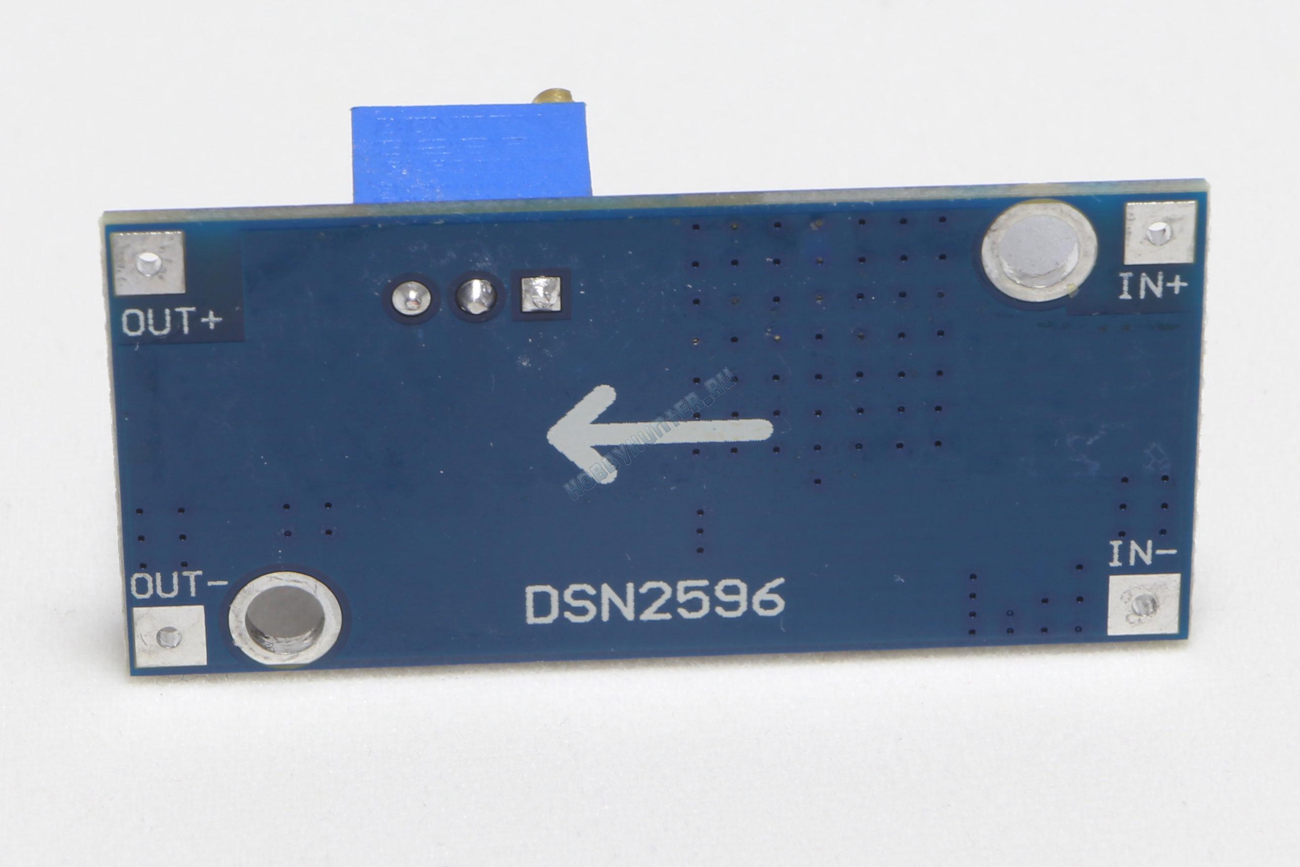 Понижающий DC–DC преобразователь LM2596