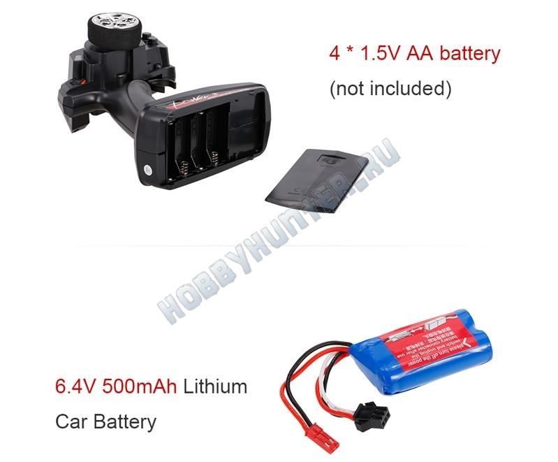 Монстр 1:18 4WD - Energy (электро 25km/h)