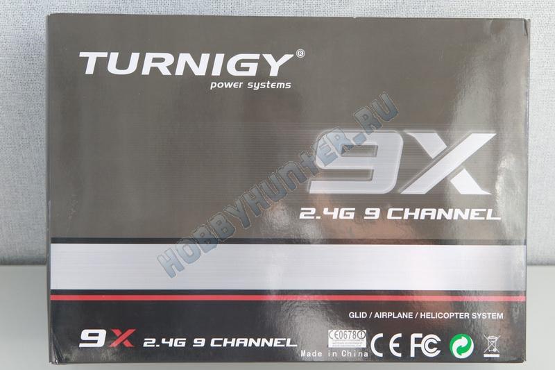 Turnigy 9X с приемником (Mode 2)