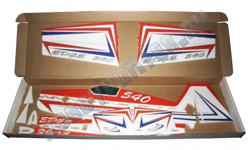 EDGE 540 - 850 Red-blue EPP