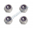 Гайки 2-56 Aluminum Locknuts (4шт)