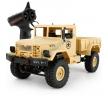 Грузовик желтый 1/16 4WD электро - Military Truck (корпус...