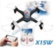 Квадрокоптер - X15W FPV (WiFi, барометр)