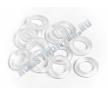 Кольцо уплотнительное O-RING P6 (6x2mm/CLEAR/12шт) аналог...