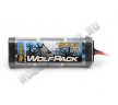 Аккумулятор Ni-MH силовой - WolfPack SC 7.2V 3000mAh (Tam...