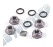 Хабы колесные - 1/10th Wheel Hubs Standard - Grey (4шт)