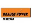 Краска по лексану для аэрографа - Orange Power - 30ml