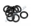 Кольца силиконовые 7x11x2.0mm (BLACK) 8шт