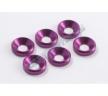 Шайбы конические M4 (6шт) - Purple
