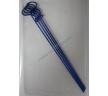 Клипсы кузовные для 1/10 длинные METALLIC BLUE (4шт)