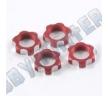 Гайки колес 1/8 - V2 Wheels Nuts 1.00mm Thread - Red (4шт)