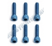 Винты FT 4-40x7/16 Cap blue alum (6шт)