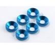 Шайбы конические M4 (6шт) - Blue
