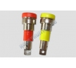Разъем D4.0mm gold Nickel plated Binding post 1шт (Red or...