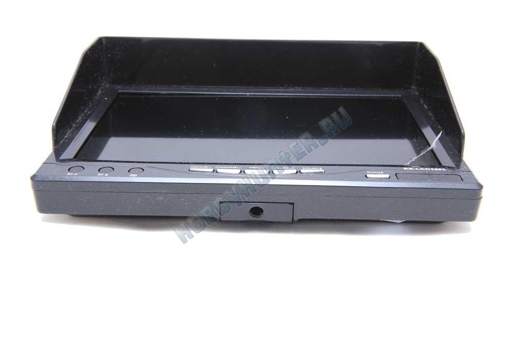 Монитор RX-LCD5802 5.8 32CH Diversity 7' 800x480 со встроенным аккумулятором (черный)